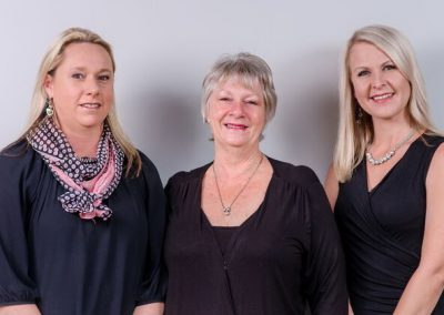 HR, Admin and Finance, Angela, Jenny and Kerry