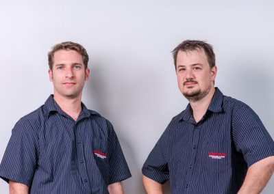 The Engineering Team, Nik Cucit and Nic Holmes